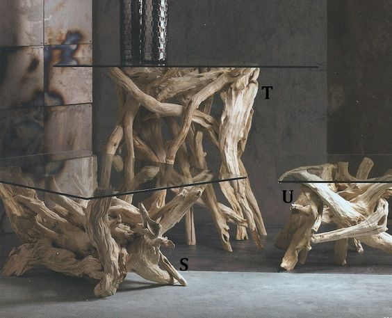 Roost Driftwood Table Bases | Modish Store