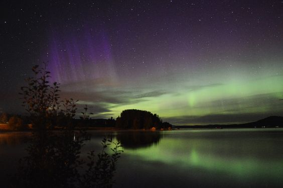 Auroras Taken by Mats Olsson on September 2, 2016 @ Söderhamn, Sweden