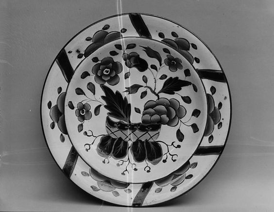 Dish,  ca. 1825 | British (American market) | The Met