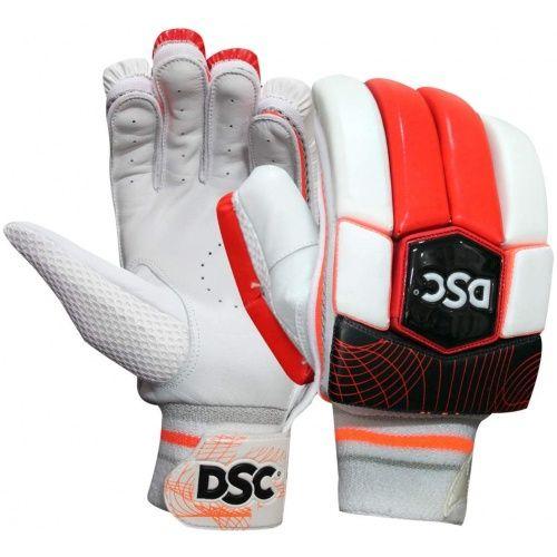 Buy Dsc Intense Attitude Leather Cricket Batting Gloves Sportsuncle Batting Gloves Gloves Leather