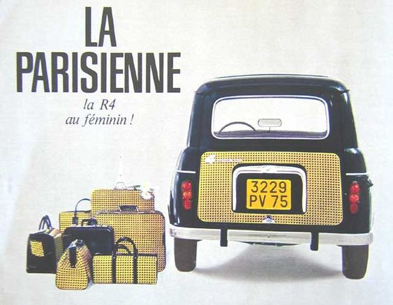 Renault 4L Parisienne
