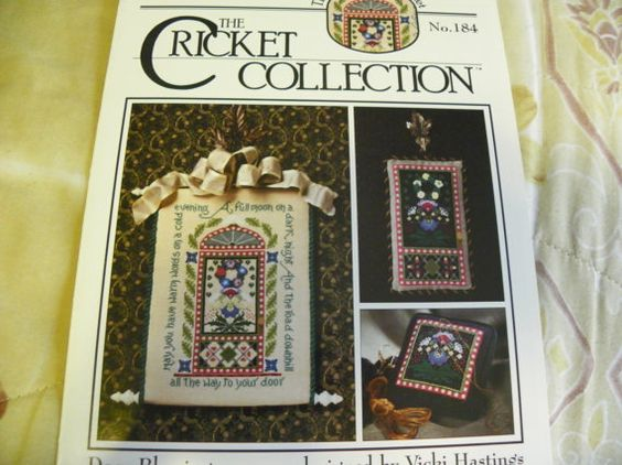 Crosstitch Pattern Leaflet  Door Blessing  by MillersHollowGifts