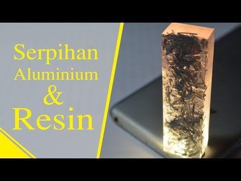 Diy Kreasi Resin Dengan Lampu Led Resin Art Easy Project For Begginers Youtube Resin Easy Projects Resin Art