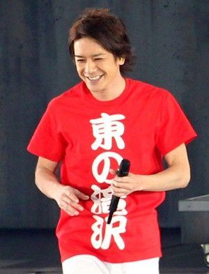 Tシャツ姿が可愛い滝沢秀明
