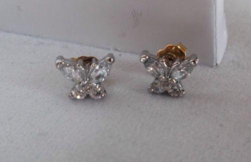 White Cubic Zirconia Butterfly Stud Pierced Earrings https://t.co/zS7uWQ9QTz https://t.co/J6ALrQkkco