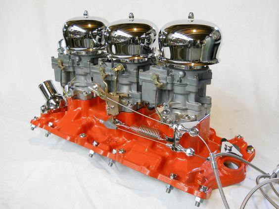 Chevy 348 3x2