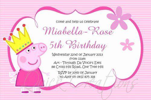Simple Pig Invitations Pig Invitations Pig Birthday Invitations Pig Shower Invitations Pig Birthday Party Invitations