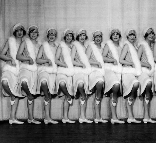 Tiller Girls, London Plaza 1928.