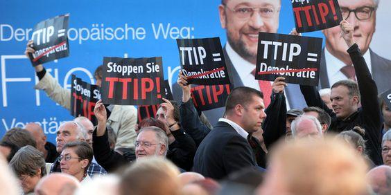 TTIP: Verhandlungsstopp gefordert Eine neue Bürgerinitiative will das Freihandelsabkommen zwischen EU und USA zu Fall bringen. Die Chancen stehen gar nicht schlecht. TAZ.de