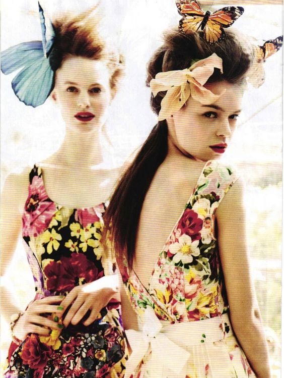estelle yves and georgie wass by esther haase for vanity fair italia no.25 27th july 2012