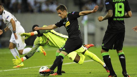 24.08.2016 / Champions League Play-off Rückspiel Borussia Mönchengladbach - Young Boys Bern 6:1 | 1:0Hazard (9., Linksschuss, Raffael) 2:0Raffael (33., Linksschuss) 3:0Raffael (40., Linksschuss, Stindl) 4:0Hazard (64., Rechtsschuss, Raffael) 5:0Raffael (77., Rechtsschuss, Hazard) 5:1Ravet (79., Linksschuss) 6:1Hazard (84., Linksschuss, Korb)