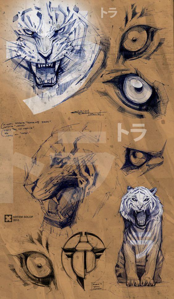 Making of Kunin Character Design, Drawing, Illustration