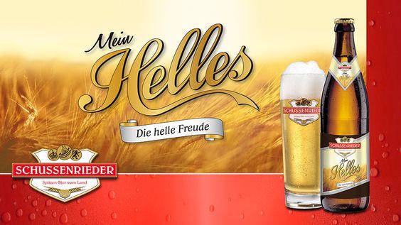 SCHUSSENRIEDER BRAUEREI - DIE CREW AG Werbeagentur - Wenn eine familiengeführte Brauerei aus Oberschwaben nur beste Zutaten aus der Heimat verwendet, kann das Ergebnis kaum regionaler schmecken: Schussenrieder macht Biere für echte Lokalpatrioten. Und wir die entsprechenden Kampagnen. #diecrew #Werbeagentur #Schussenrieder #Bier #Marketing #trinken #Kampagne #Flasche #helles