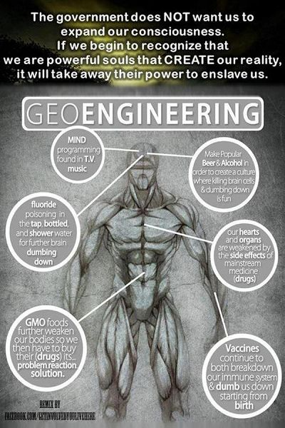 Geoengineering - David Icke Website  I truly believe this is true.