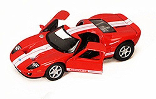 Ford Gt Red Kinsmart 5092d 1 36 Scale Diecast Model Toy Car