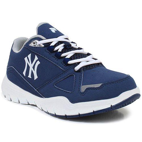 New York Yankees Preschool Filabuck Sneaker - MLB.com Shop