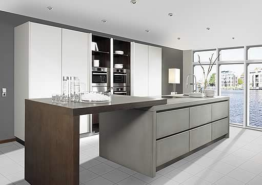 Weiße Küche mit Holzboden Küche Pinterest weiße Küchen - alno küchen katalog