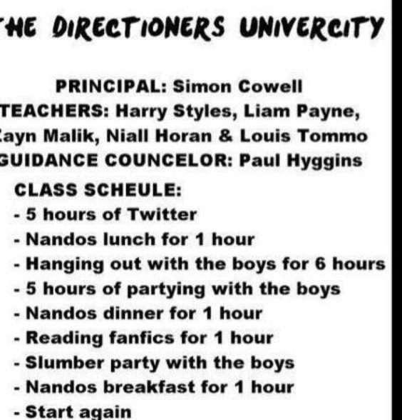 I would love school