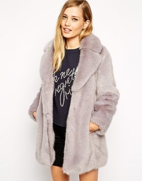 Whistles Kumiko Faux Fur Coat after a stressful but accomplished ...