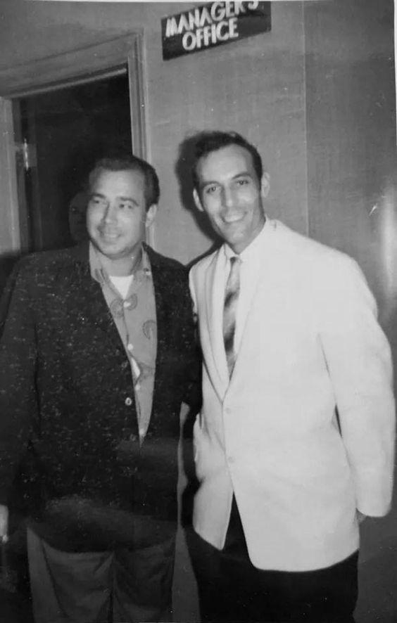 Bill Black and Carl Perkins at the Nashville Disc Jockey Convention - Nov. 1955 Photo © Margaret Garvin Fields: