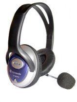3.5mm PC Headset Headphones with Adjustable Microphone #homeoffice £12.98