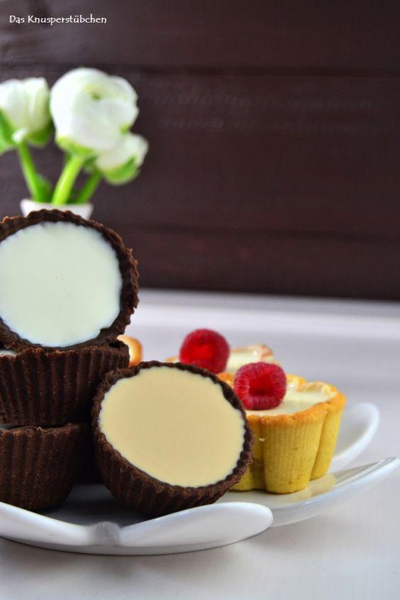 Cookie Cups mit Kaffee, Limetten oder Vanille Panna Cotta | Das Knusperstübchen