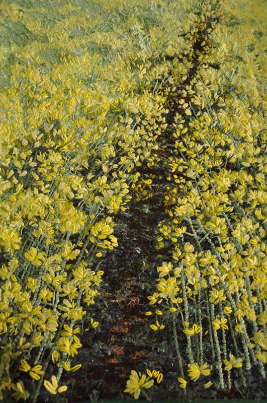 Landscape Embroidery - Fiona Robertson - Textile Artist