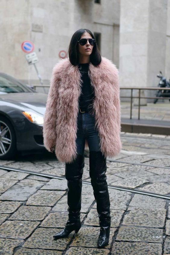 Gilda Ambrosio at Milan Fashion Week: Photo: Youngjun Koo for The Cut
