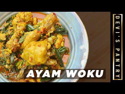 Khas Manado Resep Ayam Woku Pedas Maknyus Youtube Pedas Food Indonesian Food