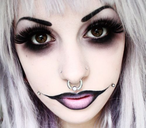 Huulet, Maquillaje and Halloween on Pinterest