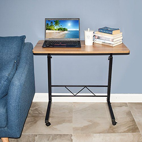 Akway Mobile Laptop Desk Cart 31 4 Height Adjustable Rol Desk Laptop Stand Bed Laptop Desk