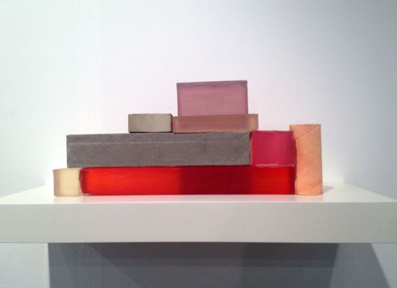 Rachel Whiteread Armory 2013 I really like this piece because of its simplicity! All it seems is a bunch of blocks on the ground, but I feel it means so much more. The different colors maybe resemble feelings or something more meaningful, or just a simple stack of blocks!