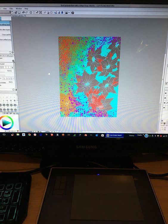 Intuos 3 x Clip Paint Studio Pro by ibr-remote.deviantart.com on @DeviantArt