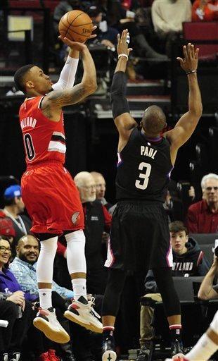Chris Paul lidera a Clippers a la victoria ante Trail Blazers