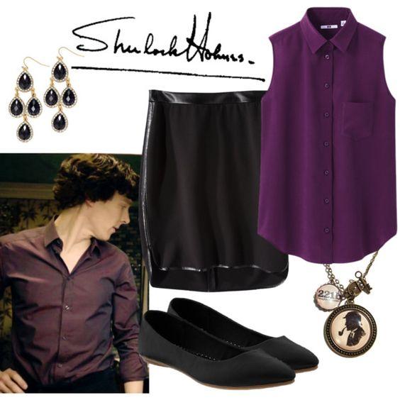 """Sherlock Holmes"" by fandom-wardrobes on Polyvore"