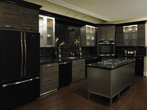 Black And Silver Kitchen Designs 925 Jpg 500 375 Home Design Pinterest Kitchens Interiors