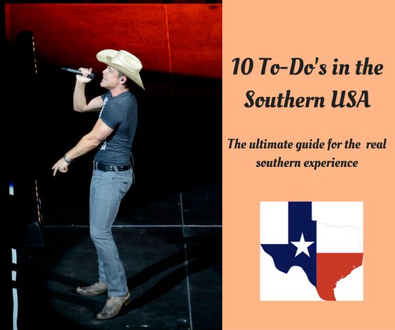 The Kontemporary: 10 To-Do's in the Southern USA