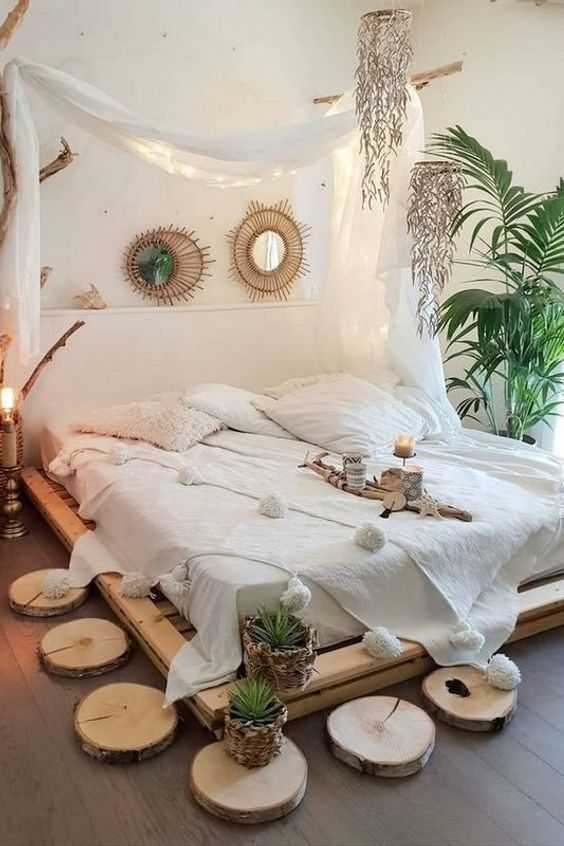 Home Bedroom Boho Chic Design Bedroom Decorating Guest Bedroom