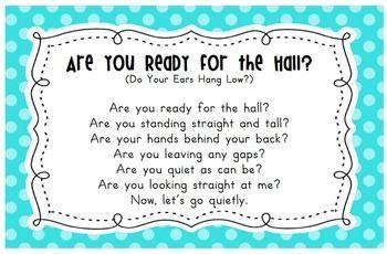 LINE UP SONGS CARDS - TeachersPayTeachers.com
