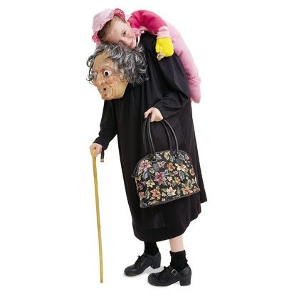 Grim granny unique costume for kids holiday ideas for Creative halloween costumes for kids
