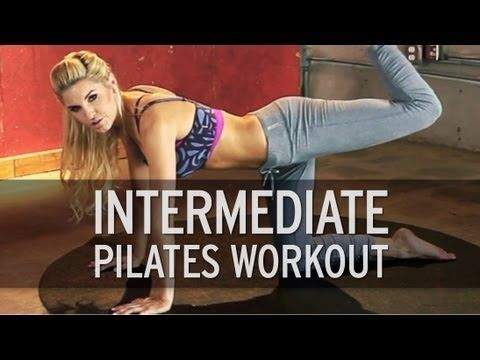 A Pilates routine for those of you beyond the beginner stage, but not quite to the advanced level yet