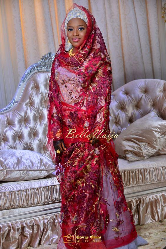 Wedding george okoro photography hausa kamu wedding bellanaija