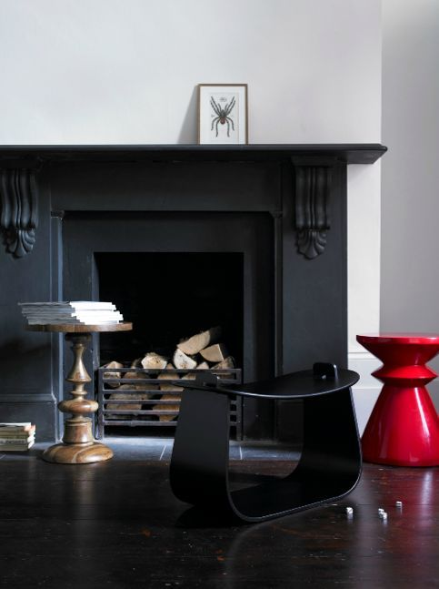 Modern Room Colour Ideas Black Fireplace Fireplace Surrounds Contemporary Fireplace