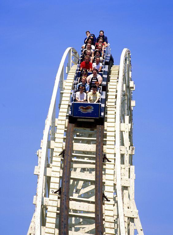 Thunderhawk - Dorney Park-first coaster I was ever on
