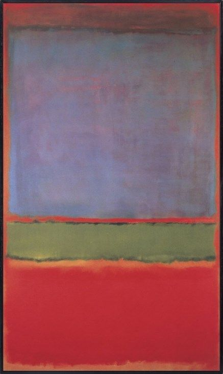 "Mark Rothko's ""No. 6 (Violet, Green and Red),"" 1951"