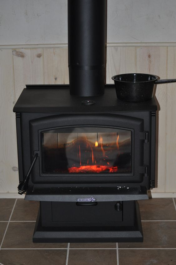 Wood Stove Perfect For Heating Our Small House 840 Sf