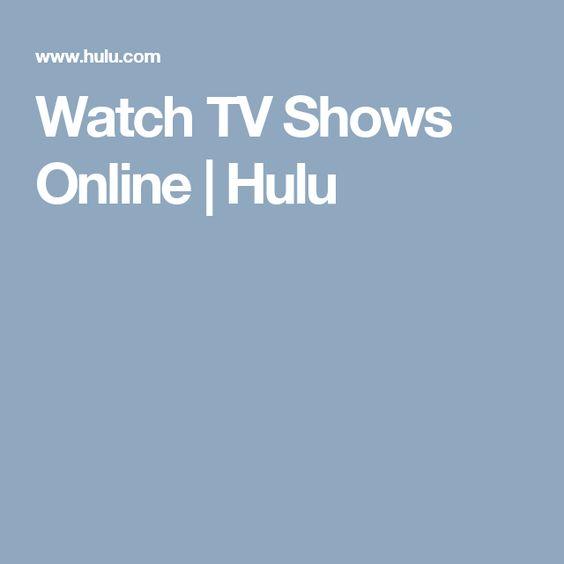 Watch TV Shows Online | Hulu
