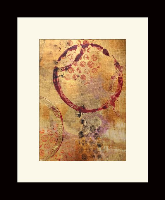 Cirque #1 by Jill English #affordable #original #art