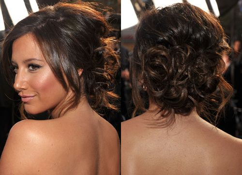 : Beauty Hairstyles, Messy Bun Hairstyles, Side Bun Hairstyles, Prom Hairstyles, Hair Style, Hair Color, Hairstyles For Prom