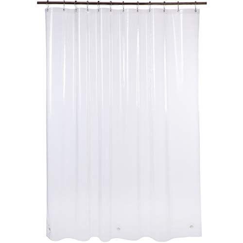 Amazer Shower Curtain 72 Quot W X 72 Quot H Clear Eva 8g Mildew
